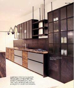 Кухня для лофта