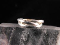 Sterling Silver Ring Vintage Triplet Weave Bands by hipcricket, $20.00