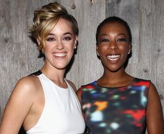 Pin for Later: The Best New Couples of 2014 Samira Wiley and Lauren Morelli