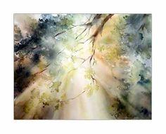 Herbstlicht / Aquarell auf Arches CP 30x40cm