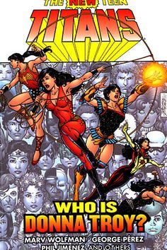 'The New Teen Titans: Who Is Donna Troy?' from DC Comics