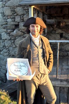19 June 2014 - Via BBC One @BBCOne · Happy Birthday to Aidan Turner who celebrated his birthday on the set of @BBCOne's #Poldark today.