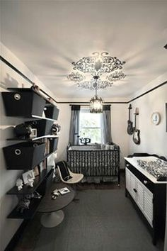 Black n white nursery