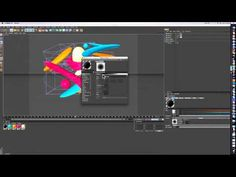 Cinema 4d Abstract Object Tutorial | by IModernArts - YouTube