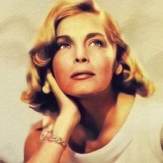 Painting - Lizabeth Scott, Vintage Actress by Esoterica Art Agency , Lizabeth Scott, Female Movie Stars, Most Beautiful Faces, World Cultures, Pick One, Classic Hollywood, American Actress, Chiffon Tops, Actresses