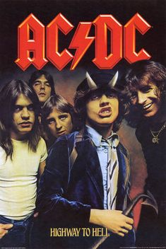 Ac/Dc Highway To Hell Music Collectors Poster Ac Dc, Poster Wall, Poster Prints, Gig Poster, Rock And Roll, Photographie Indie, 80s Posters, Rock Band Posters, Band Wallpapers