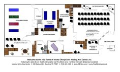 Here is our proposed floor plan; we will be in Suite 220.