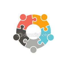 People Logo. Vector graphic design illustration — Stock Vector #117530248