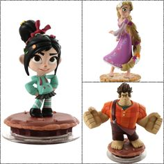 Coming soon. Very soon. Pre order #WreckItRalph, #Vanellope and #Rapunzel for #DisneyInfinity today: http://di.sn/gP3