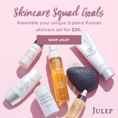 ★★★ 🅽🅴🆆 ★★★ Build your own Korean skincare 3-piece set for only $30!:  It's time to assemble your K-Beauty Squad! Build your own Korean…