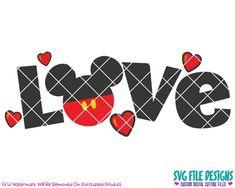 Disney Valentines, Teacher Valentine, Valentines Day Shirts, Love Valentines, Valentine Crafts, Valentine Ideas, Mickey Y Minnie, Disney Mickey, Kid Fonts
