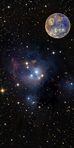 تصویر زمینه ستاره و کهکشان Star & Galaxy Wallpaper