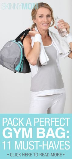 Pack a Perfect Gym Bag: 11 Must-Haves at the Gym :)!!!!!!