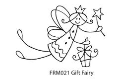 Rubber Stamp Gift Fairy
