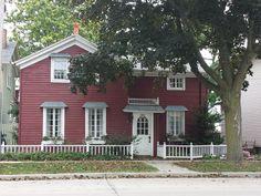 Red house - Racine Wisconsin