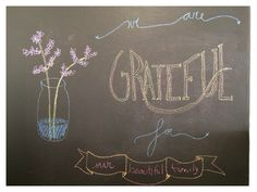 #grateful #family #chalkboard #phrases #quotes