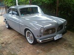 Volvo Amazon hellgrau