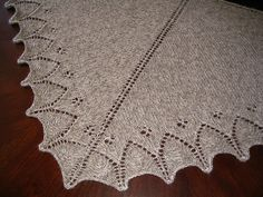 The Ellensburg Shawl by Janelle Masters