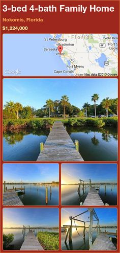 3-bed 4-bath Family Home in Nokomis, Florida ►$1,224,000 #PropertyForSale #RealEstate #Florida http://florida-magic.com/properties/89989-family-home-for-sale-in-nokomis-florida-with-3-bedroom-4-bathroom