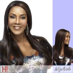 EMERALD-V (Vivica A. Fox) - Futura Fiber Lace Front Wig in P2216 *** You can find out more details at the link of the image.