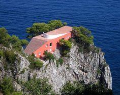 Adalberto Libera (1903-1963) architecte et Curzio Malaparte (1898-1957) – Villa de Curzio Malaparte à Capri
