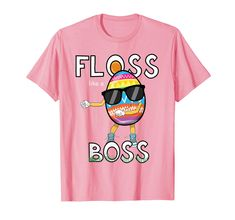 #eastergifts #eastereggs #easteroutfitforkids #eastershirt #flosslikeaboss Amazon.com: Floss Like A Boss Easter Egg Gift Shirt Girls Kids Flossing: Clothing Gifts For Art Lovers, Gifts For An Artist, Easter Outfit, Theme Parties, Like A Boss, Shirts For Girls, Cool T Shirts, Girl Fashion, Cool Outfits