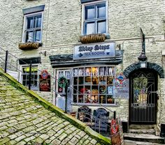 the tea room, Whitby, North Yorkshire, UK  by W J P Photography