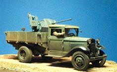 GAZ-AA (captured 2 cm Flak 38)