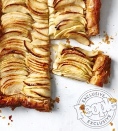 Alex Guarnaschelli's shares an easy dessert from her new book The Home Cook The Chopped star shares an easy dessert from her new book The Home Cook Easy Tart Recipes, Apple Recipes, Cooking Recipes, Apple Tart Recipe Easy, Yummy Recipes, Dessert Recipes, Apple Tart Puff Pastry, Puff Pastry Recipes, Healthy Apple Desserts