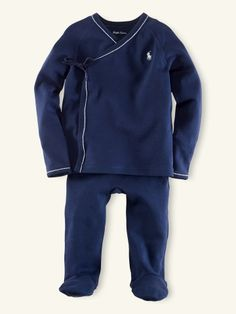Another possible take home outfit...  Solid Kimono Set - Layette One-Pieces - RalphLauren.com