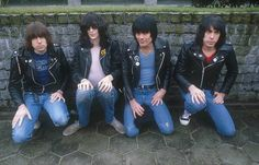 "metal-attack: "" ""Ramones by Peter Mazel, 80s. "" """