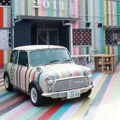 PAINT THE CAR WITH STRIPES!