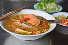 Bun rieu, a great little find on former prison island of Con Dao in Southern Vietnam.