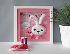 Cute personal gift for a newborn baby girl