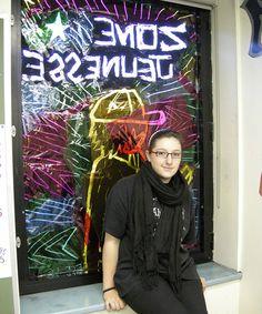 Elizabeth, Laurent et Mohamed Oeuvre D'art, Neon Signs, Urban, Street Art