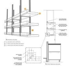 kitchen ceiling hanging shelves - Google Search