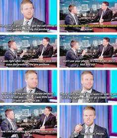 Stephen Amell on Kimmel live!!