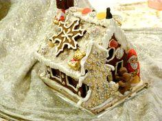 Anleitung und Rezept für Lebkuchenhäuser - Hexenhaus aus Lebkuchen zu Weihnachten