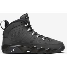 AIR JORDAN 9 RETRO ($140) ❤ liked on Polyvore featuring shoes, retro inspired shoes, retro style shoes and retro shoes