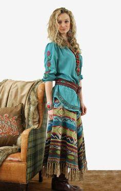 Brands :: Tasha Polizzi :: Tasha Polizzi Fall 2014 Mountain Skirt! - Native American Jewelry|Ladies Western Wear|Double D Ranch|Ladies Uniqu...http://www.cowgirlkim.com/cowgirl-brands/tasha-polizzi/tasha-polizzi-fall-2014-mountain-skirt.html