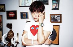 Fated to Love You's confident and suave second lead, Choi Jin Hyuk, hearts his big, shapely biceps, flaunting them to be admired in the August edition of CéCi. Check it! Choi Jin Hyuk, Lee Jin Wook, Choi Seung Hyun, Lee Jong Suk, Korean Star, Korean Men, Korean Actors, Asian Men, Cha Seung Won