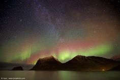 Aurora e Via Lattea