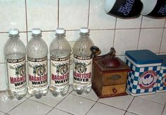 Pop Haydn's Magnetized Water from California.