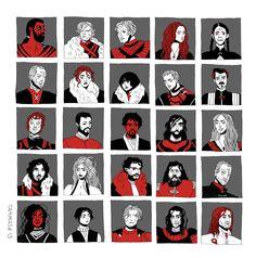 a motley cast of characters - tarmasz
