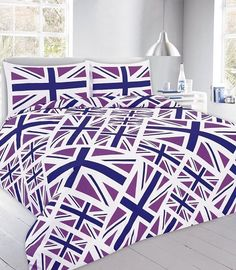 Item Specification Luxury union jack printed duvet quilt cover bedding set Material Absolutely machine washable Single : with 1 pillow case Double : with 2 pillow cases King : with 2 pillow cases Super king: with 2 pillow cases Damask Bedding, Plaid Bedding, Green Bedding, Pink Bedding, Luxury Bedding, Unique Bedding, Quilt Bedding, White Bedding, King Size Bedding Sets