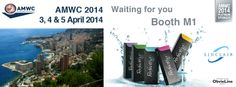 #amwc 2014 - 3,4 & 5 April 2014 - #grimaldiforum #monaco #sinclairpharma