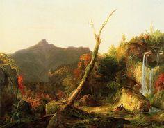 Autumn Landscape by Thomas Cole