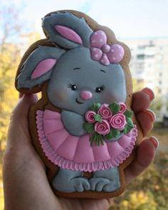 Iced Sugar Cookies, Royal Icing Cookies, Easter Cookies, Birthday Cookies, Easter Biscuits, Paint Cookies, Fancy Cookies, Baby Shower Cookies, Bakery Cakes