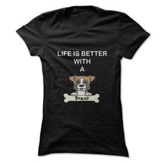 love boxer T-Shirts, Hoodies. ADD TO CART ==► https://www.sunfrog.com/Pets/love-boxer.html?id=41382