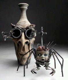 Ceramic sculpture .....